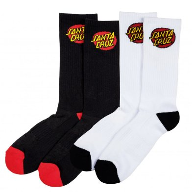 Santa Cruz Classic Dot Sock (2 Pack)