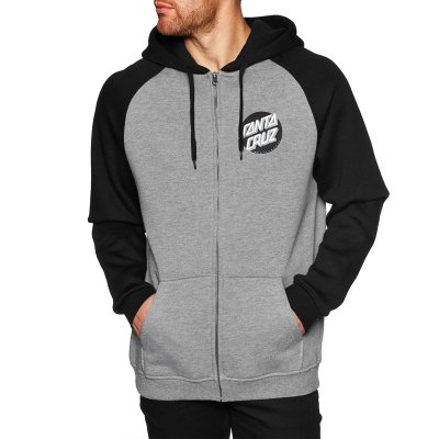 Santa Cruz Other Dot Zip Hoodie