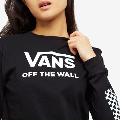 Vans Funday LS Boyfriend Shirt