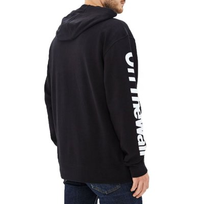 Vans Distorted Oversized Half Zip Hoodie